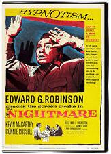 Nightmare 1956 DVD - Edward G. Robinson, Kevin McCarthy