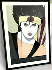 1984 Dumas Patrick Nagel Sushi Girl NC 3 Mirage Edition Serigraph Print Framed