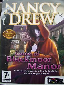 NANCY DREW---CURSE OF BLACKMOOR MANOR---HIDDEN OBJECT---PC CD---MINT