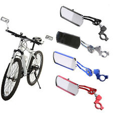 ADJUSTABLE MOUNTAIN BIKE BICYCLE HANDLEBAR SIDE REARVIEW MIRRORS GLASSES FILL