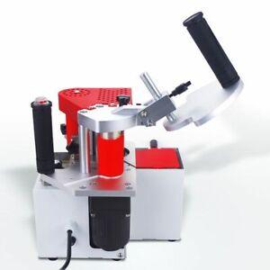 WOO 240V Portable Edgebanding Machine Dual Glue Manual Edge Bander Woodworking