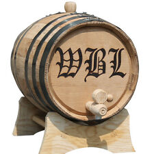 Personalized 3 Liter Mini-Oak Whiskey Barrel - Groomsmen Gift - Father's Day