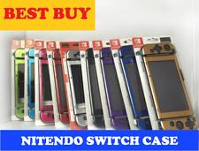 1 Pack Caja de Aluminio Cubierta Protectora Piel Shell Nintendo Switch Agarre Joy-Con