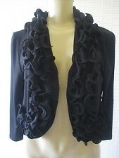 GLAMOUR BLACK 3/4 SLEEVE TOP SIZE M - NWT