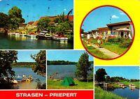 Strasen-Priepert , DDR , Ansichtskarte , gelaufen