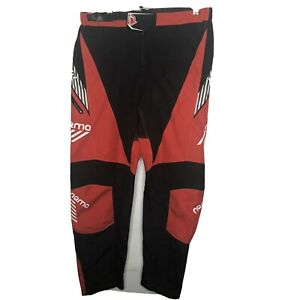 NEMA Bmx Specific Race Pants Red Size 30 Motorsport