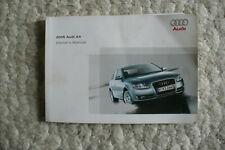 New listing ✅ Oem 2005 05 Audi A4 Original Owners User Manual Guide