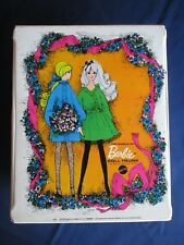 ** Vintage The WORLD BARBIE DOLL TRUNK Wardrobe Carrying Case WHITE