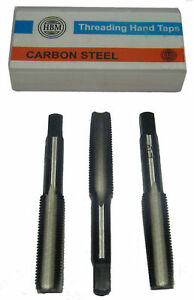 """RDGTOOLS UNF LEFT HAND TAPS AND DIES ALL SIZES 1/4 - 3/4"""" THREADING TOOLS"""