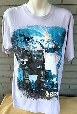 Avatar RDA Resources Development James Cameron Large T-Shirt Movie Film Cotton