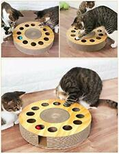 New listing Cat Toy with Sturdy Scratching Pads and 2 Jingly Balls for All Ages of Cats