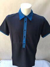 GF Ferre Italian men's Polo Shirt navy blue , black