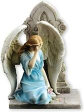 More details for angel and cross statue resin sculpture ornament angels veronese collection