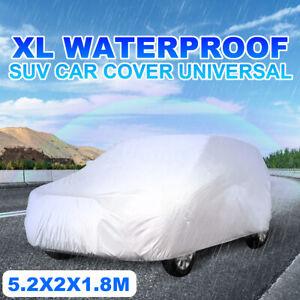 Full Car SUV Cover Waterproof Sun UV Snow Dust Rain Resistant Protection XL