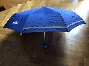 Kinderschirm von Scout, Regenschirm für Kinder, blau, wie neu, mit Hülle