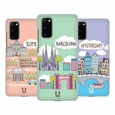 HEAD CASE DESIGNS DOODLE CITIES 4 HARD BACK CASE FOR SAMSUNG PHONES 1
