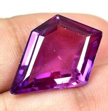 AAA+ 15.30 Ct Natural Pink Pyrope Garnet AGSL Certified Fancy STUNNING Gemstone