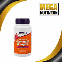 NOW FoodsAdvanced Gamma E Complex 60 Softgels | Antioxidant Skin Hair Vitamin E