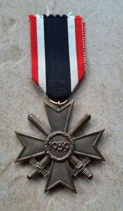 Kriegsverdienstkreuz 2. Klasse 1957 Orden Wehrmacht am Band