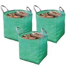 Builders Woven Reusable Work Bin Waste Bags Heavy Duty Rubble Sacks 120L x 3