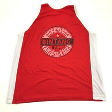 VINTAGE Bintang Bali Pilsener Beer Tank Top Size 2XL XXL Adult Red Muscle Shirt
