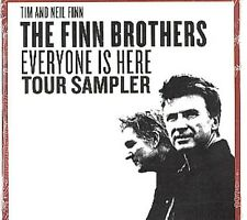 Finn Brothers Everyone Is Here Tour Sampler Us Dj Cd