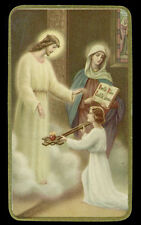 santino-holy card ediz. NB  n.313 UMILTA CASTITA' OBBEDIENZA