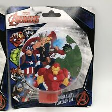 MARVEL AVENGERS LED Night Light Rotary Shade Direct Light Anywhere..NIP