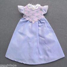Vintage 1980's Purple Ballroom Princess Dress Doll Play Clothes / Clothing