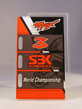 MINICHAMPS MAX BIAGGI MODELO PITBOARDS WARRIORS OF THE WORLD CHAMPION MOTO SBK