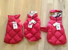 $40 NWT 32 Degrees Ultra Light Down Doggie Quilted Vest in Red Sz M
