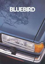 Prospekt Datsun Nissan Bluebird 1981 Autoprospekt 9 81 Auto Pkw Asien Japan