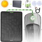 12V Solar Panel Power Trickle Kit Portable Battery Charger For Car Boat Marine
