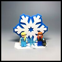Acrylic display stand for LEGO Disney series 2 Frozen minifigures