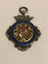 More details for antique north eastern railway charity silver enamel medal heavy 20 g freepost uk