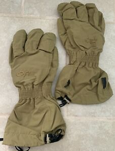 Outdoor Research Extreme Cold Weather Gloves-No Inserts Coyote GoreTex Large(M)