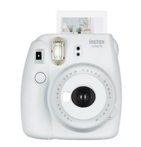 Fujifilm Instax Mini 9 Instant Film Camera - Smokey White instant film camera