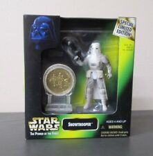 Snowtrooper w Coin STAR WARS Power of the Force POTF Special Limited Edition