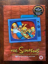 Simpsons Season 5 DVD Box Set Complete Fifth Family Animated TV Series