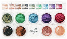 "MAHYA ""WINTER"" 100% Pure Mineral Multi-Purpose Eyeshadows 9 Colors STACK SET NEW"