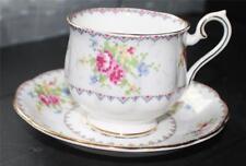 Vintage ROYAL ALBERT Bone China England PETIT POINT #778676 Cup & Saucer Set