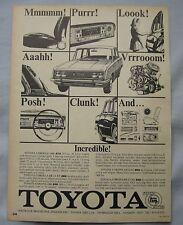 1968 Toyota Original advert