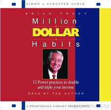 New 2 CD Million Dollar Habits Brian Tracy (Nightingale Conant)