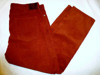 NWT MENS DOCKERS 5 POCKET STRAIGHT FIT CORDUROYS FLAT FRONT $58 RUST 49825-0018