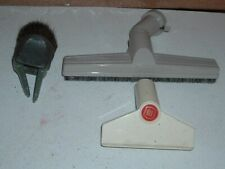 vtg. set of 3 genuine electrolux canister vacuum hose head attachments