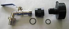 """IBC Adapter 3/4"""" Auslaufhahn für NEUE IBC - Regenwasser Tanks (Gewínde 60mm)"""