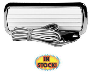 Counterpart 60-13771-C - 1960-72 Chevy Pickup Dome Lamp with Chrome Base