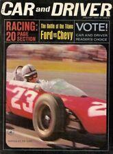 CAR & DRIVER 1964 JAN - RACING Spcl, HOLMAN & MOODY, AMILCAR
