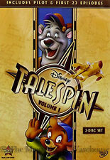 Disney Channel Afternoon Airplane Cartoon Series Baloo TaleSpin Volume 1 on DVD