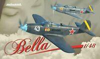 Eduard Ltd Ed 1:48 P-39 Airacobra 'Bella' Dual Combo Two Aircraft Model Kit